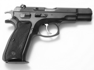 Hand Pistol similar to M9 used in Laser Tag
