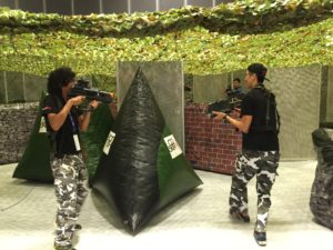 mobile laser tag for carnivals