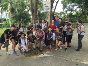 laser tag team building in singapore