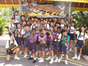 laser tag for school students