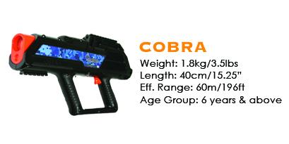 Laser Tag Gun Specs