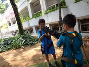 laser tag in singapore for children