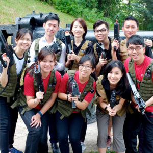 games for laser tag for corporate companies